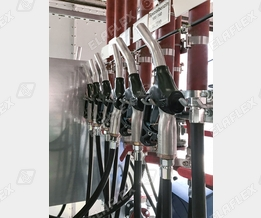 Filling plant for special gasoline types
